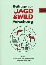 """Titelseite """"Beitraege Jagd- u. Wildforschung Bd. 34"""""""