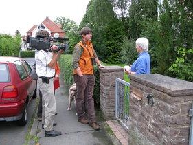 "Filmaufnahmen in ""Europas Waschbärhauptstadt Kassel"""