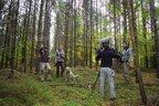 Funkortung - Aufnahme von Telemetriearbeiten im Mueritz-Nationalpark